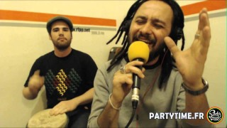 Rod Anton and Tchong Libo at Party Time Reggae Show – 25 MAI 2014