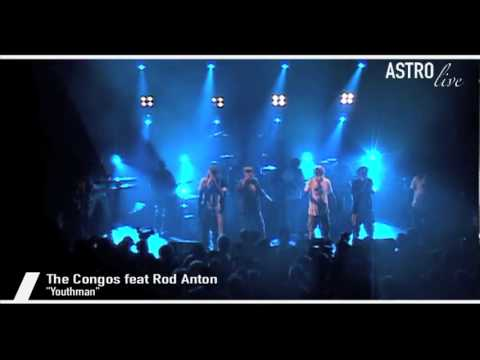 The Congos & Rod Anton – Youthman – Live HD/HQ