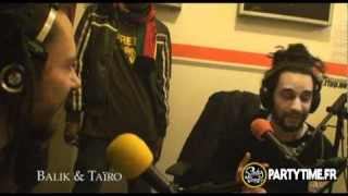 Taïro, Balik & Natty Jean – Freestyle at Party Time Radio TV