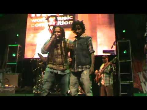 Ky-mani Marley ft. Kj Marley in Chile – Armed and Dangerous