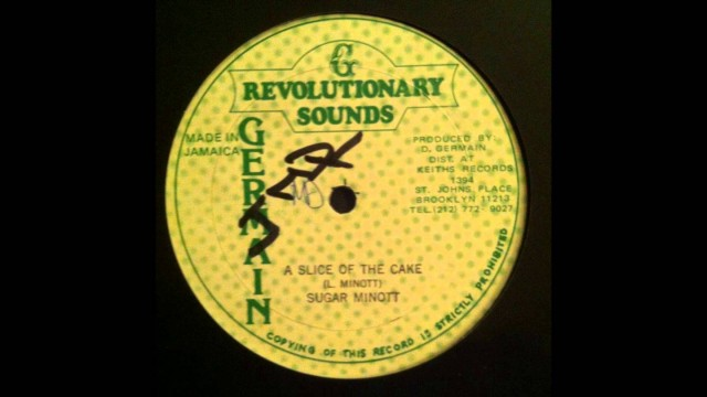 Sugar Minott – A Slice Of The Cake