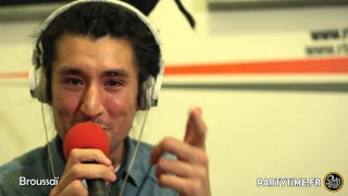 BROUSSAI – Freestyle at Party Time radio show – 15 Mars 2015