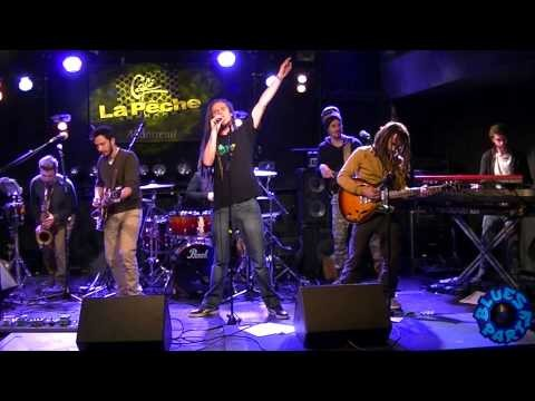Reggae Juice Acoustic guest THE BANYANS (full band 2015)