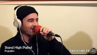 Stand High Patrol avec Pupa Jim – Freestyle at Party Time Reggae Show – 18 JANV 2015
