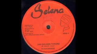 Peter Broggs – Jah Golden Throne
