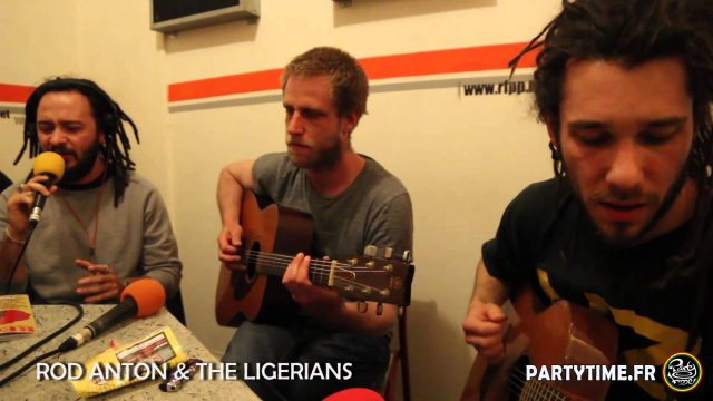 Rod Anton & The Ligerians – Freestyle at Party Time radio show