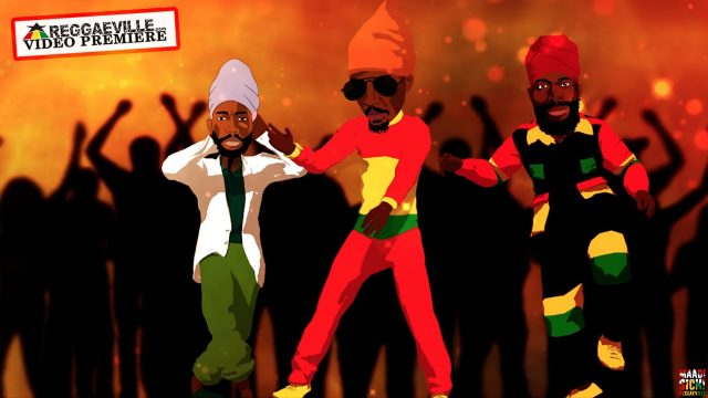Anthony B & Sizzla & Capleton & Jah Clarity – Best of the Best – Official Video HD
