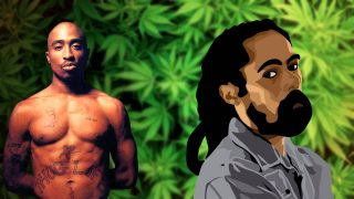 2pac & Damian Marley – Road to zion Remix