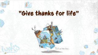 I Woks – Give thanks for life – (Lyrics vidéo)